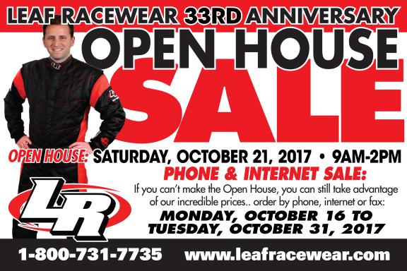 LEAF RACEWEAR OPEN HOUSE 2107